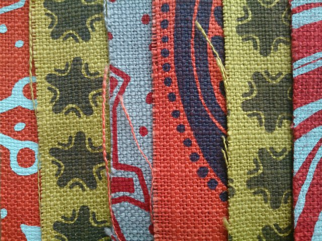 Red tone fabrics